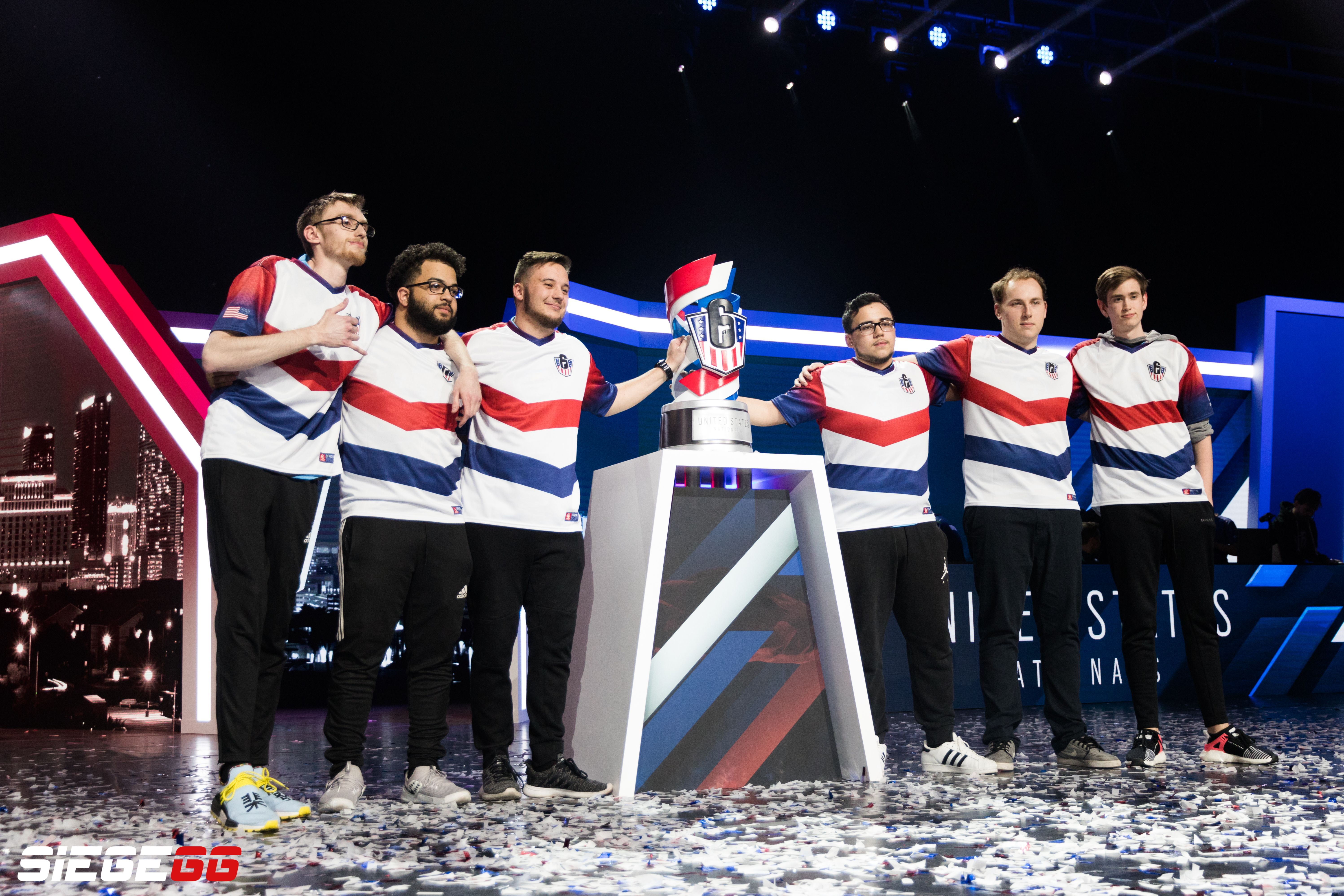 The previous roster after they won USN 2018.