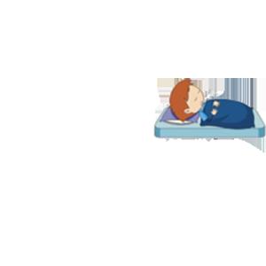 Pats asleep team logo