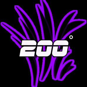 200 Degrees logo