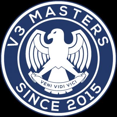 V3 Masters logo