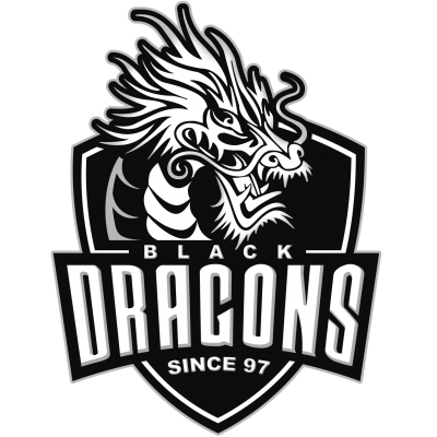Black Dragons team logo